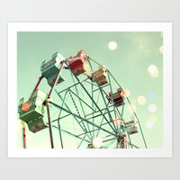 Around Art Print