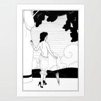 Art Nouveau Posters: The Entrance Art Print