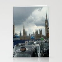 Gloomy Day in London Stationery Cards