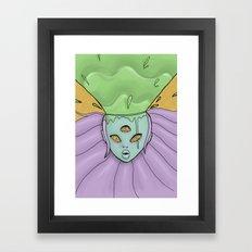 Goo-splosion Framed Art Print