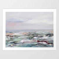 Coastal Scenery Art Print