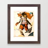 Runnin Framed Art Print