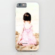 Baby at Beach iPhone 6 Slim Case