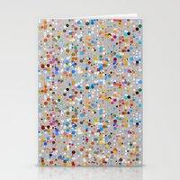 Splash dots Stationery Cards