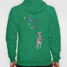 When I went to the zoo... Hoody