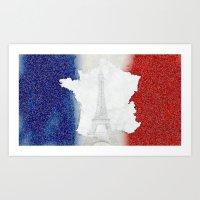 Viva La France!!! Art Print