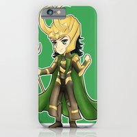 iPhone & iPod Case featuring Loki by Tiffany Willis