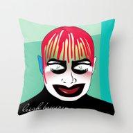 Leigh Bowery Throw Pillow