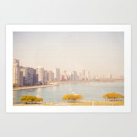 Summer In The City Chica… Art Print