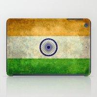 Flag Of India - Retro St… iPad Case