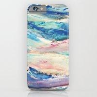 3D Ocean waves iPhone 6 Slim Case