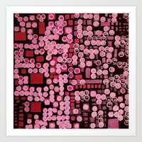 :: Pink Noise Ordinance :: Art Print