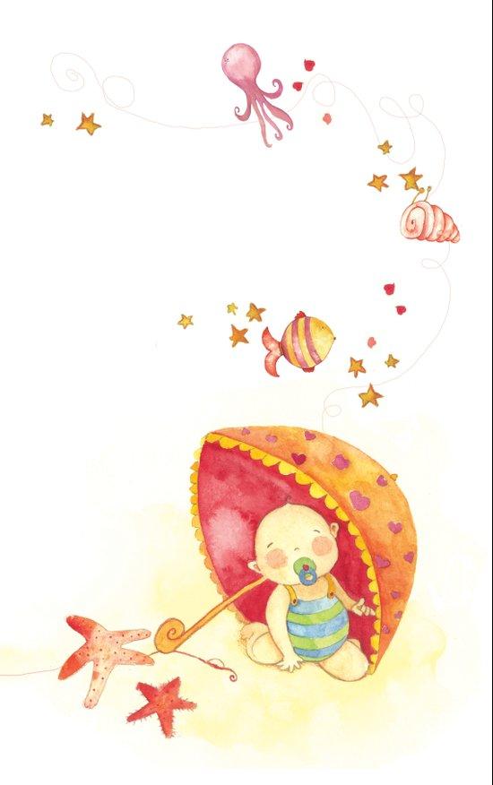 Baby beach Art Print