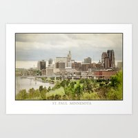 St. Paul Minnesota Art Print