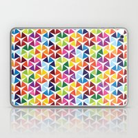 Tessellating Triangles Laptop & iPad Skin