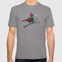 Annoyed IL Birds: The Ca… Mens Fitted Tee Tri-Grey SMALL