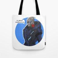 Garrus Tote Bag