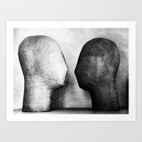 Bipolarism Art Print