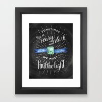 Wisdom of BMO Framed Art Print