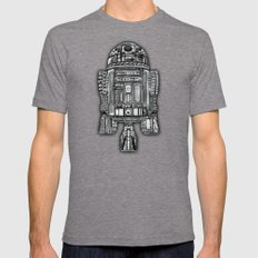 Aztec R2d2 Droid IPhone … Mens Fitted Tee Tri-Grey SMALL