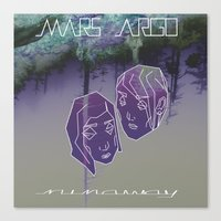 MARS ARGO _runaway_ Canvas Print