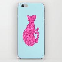 Pink Tammy iPhone & iPod Skin