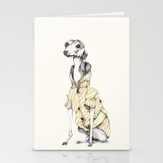 he would never do it Stationery Card