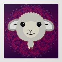 Big Sheep Canvas Print