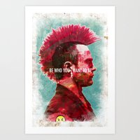 Sunset Overdrive Art Print