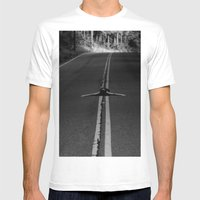 Risky Business  Mens Fitted Tee White SMALL