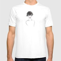 Hush Mens Fitted Tee White SMALL