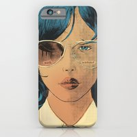 iPhone & iPod Case featuring With & Without by Señor Salme
