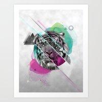 Le Tigre Art Print