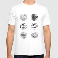 Tadpoles Mens Fitted Tee White SMALL