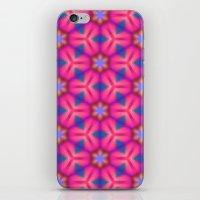 Kaleidoscope Floral iPhone & iPod Skin