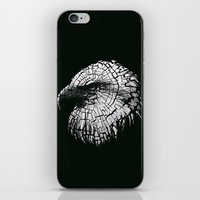Bald Eagle (Cracked series) iPhone & iPod Skin