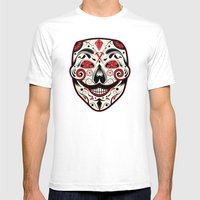 Day Of The V Mens Fitted Tee White SMALL