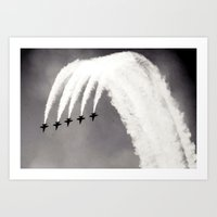Plane / Blue Angels Jets Art Print