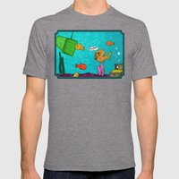 Admiral Ackbar It's A Tr… Mens Fitted Tee Tri-Grey SMALL