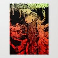Necromance with Me Canvas Print