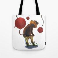 DEPRESSED CAT Tote Bag