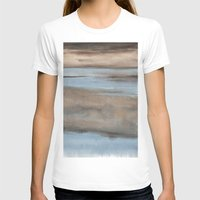 Fen Womens Fitted Tee White SMALL