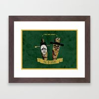 Tie the not!(백년기약) Framed Art Print