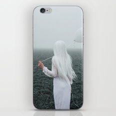 All white iPhone & iPod Skin