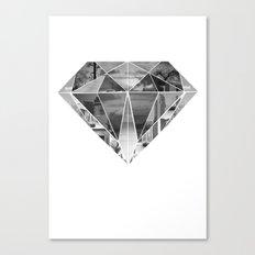 Diamond Canvas Print