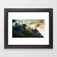 Wander III Framed Art Print