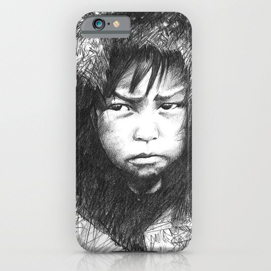 Inuit Boy iPhone & iPod Case