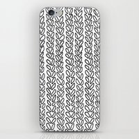 Knit Outline Zoom iPhone & iPod Skin