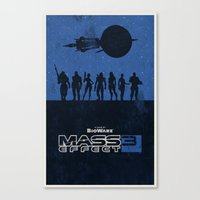 Mass Effect 3 Canvas Print