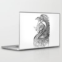 dragon Laptop & iPad Skins featuring Dragon. by sonigque